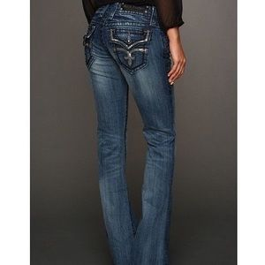 Rock Revivals Celine Bootcut Stretch Sz 27 EUC